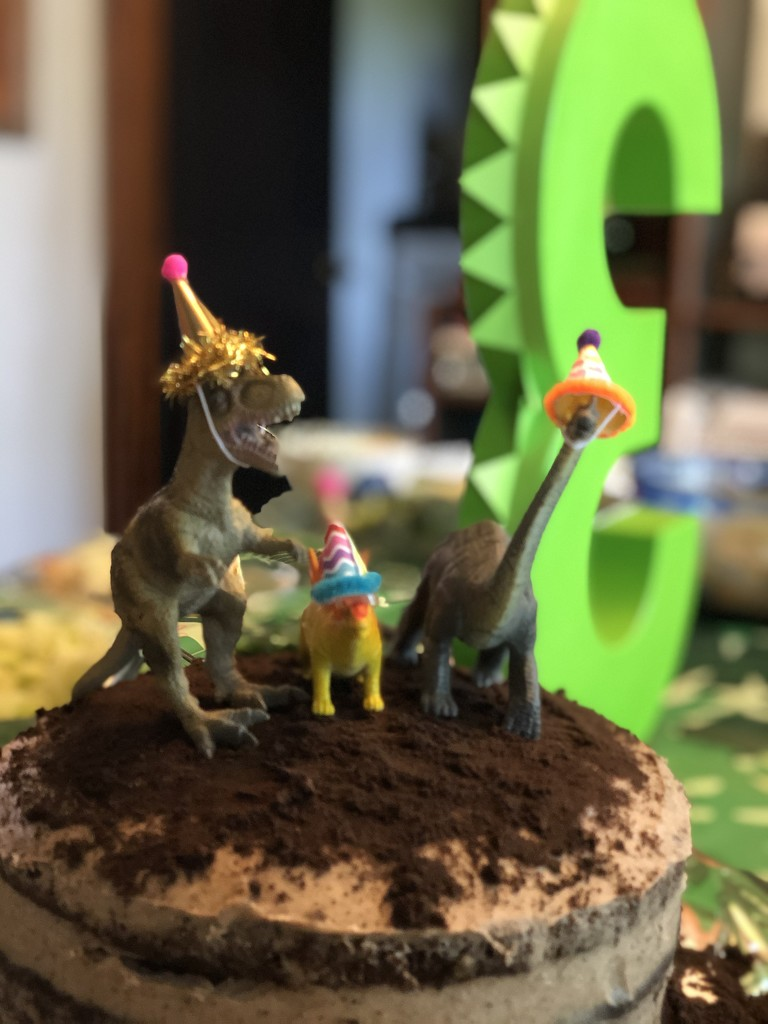 Dinosaur party  by johnnychops