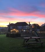 14th Jun 2021 - evening in a pub garden