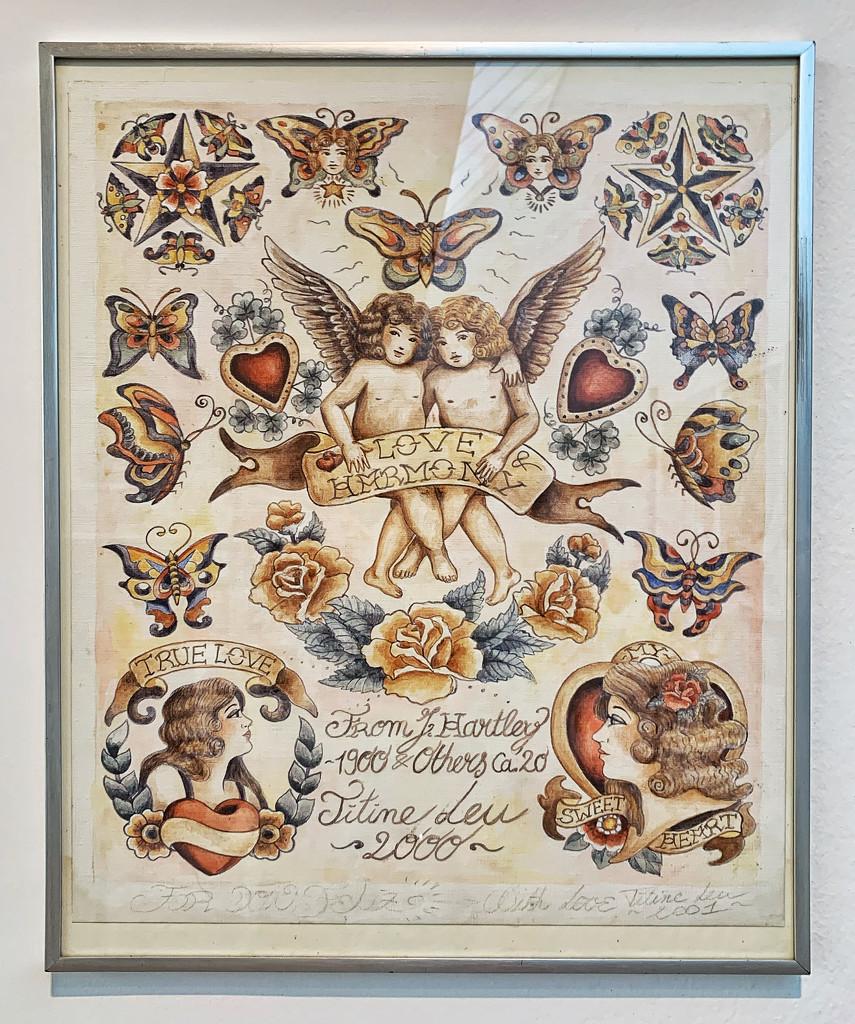 Love harmony with hearts.  by cocobella
