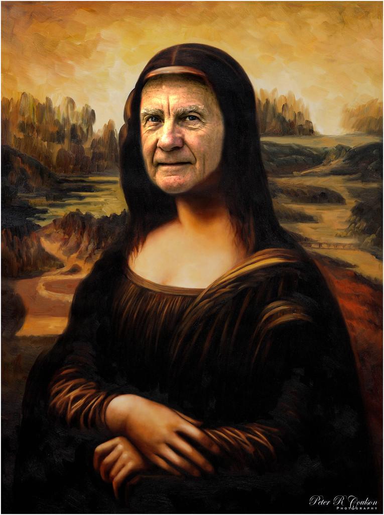 Mona Lisa Selfie by pcoulson