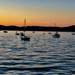 Sunset in Sausalito by cashep19