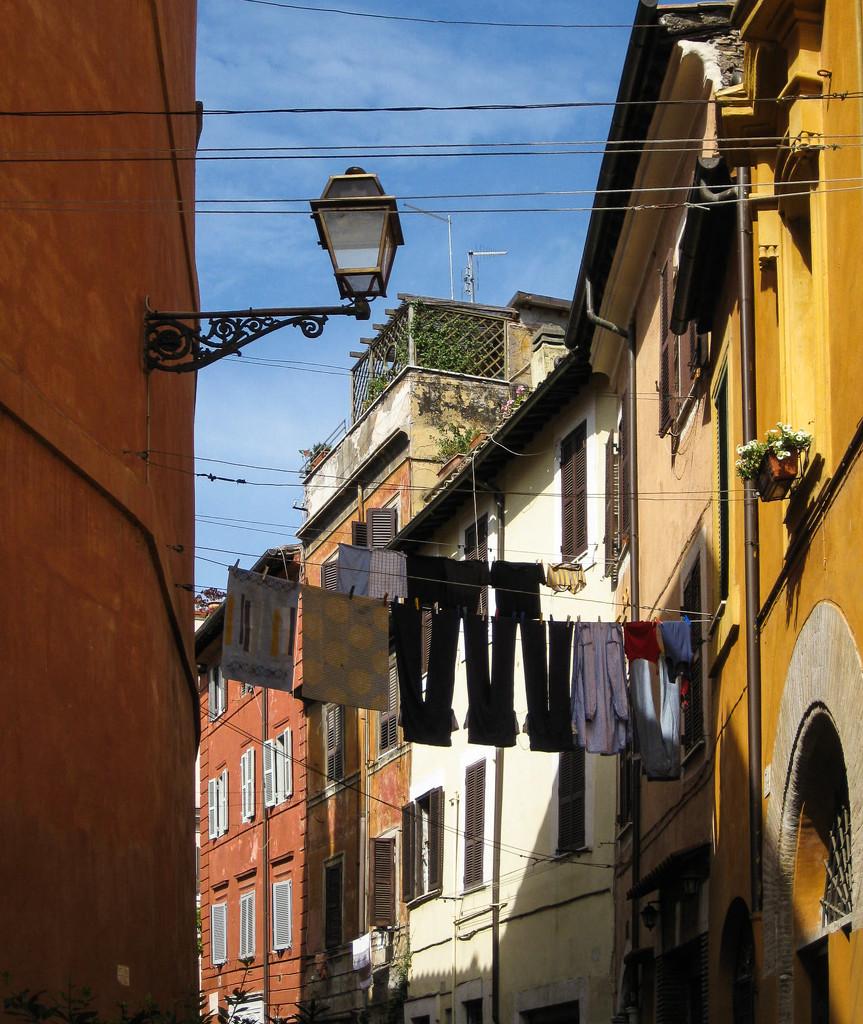 Trastevere Rome by brigette