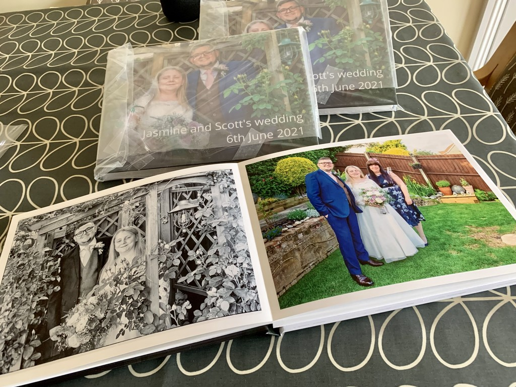 Extras - The photo books arrived! by pamknowler