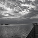 Black and White Sunset Tonight! by rickster549