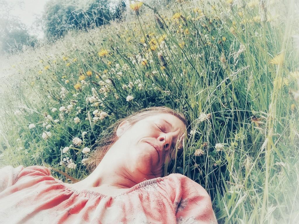 Wild flower power nap by fiveplustwo