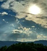 18th Jun 2021 - Sunlit Clouds