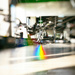 A rainbow peeked into the gym by evgeniamsk