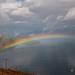 The rainbow on Kvænangsfjellet by elisasaeter
