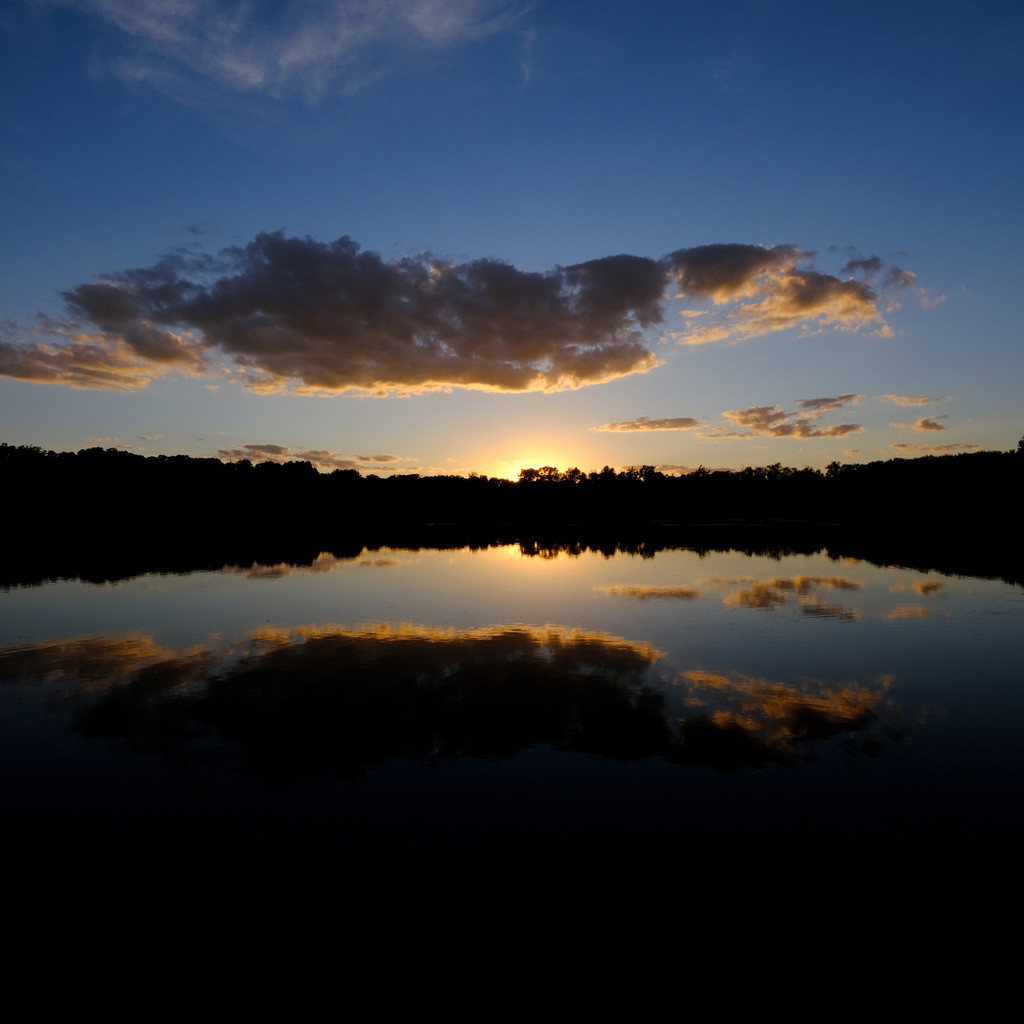 Sunset, Reflected Cloud by lsquared