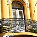 Decorative lattice balcony