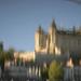 Saumur castle refleted on the Loire by parisouailleurs