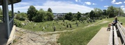 24th Jun 2021 - Panorama of Old Burial Grounds in Marblehead
