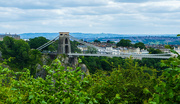 22nd Jun 2021 - clifton suspension bridge from leigh woods