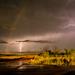 Rainbow and Lightning by kareenking