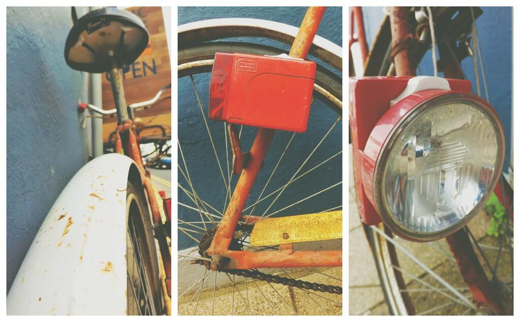Retro Bike Collage by ajisaac