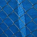 Blue Tarp, Fenced