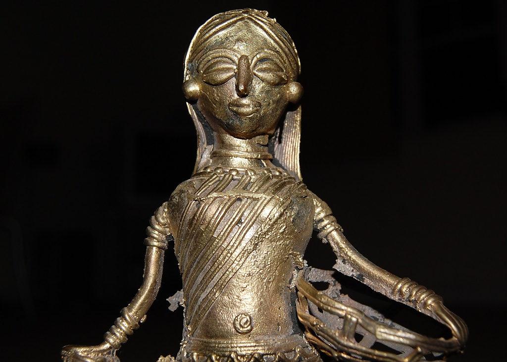 West Bengali Figurine by andycoleborn