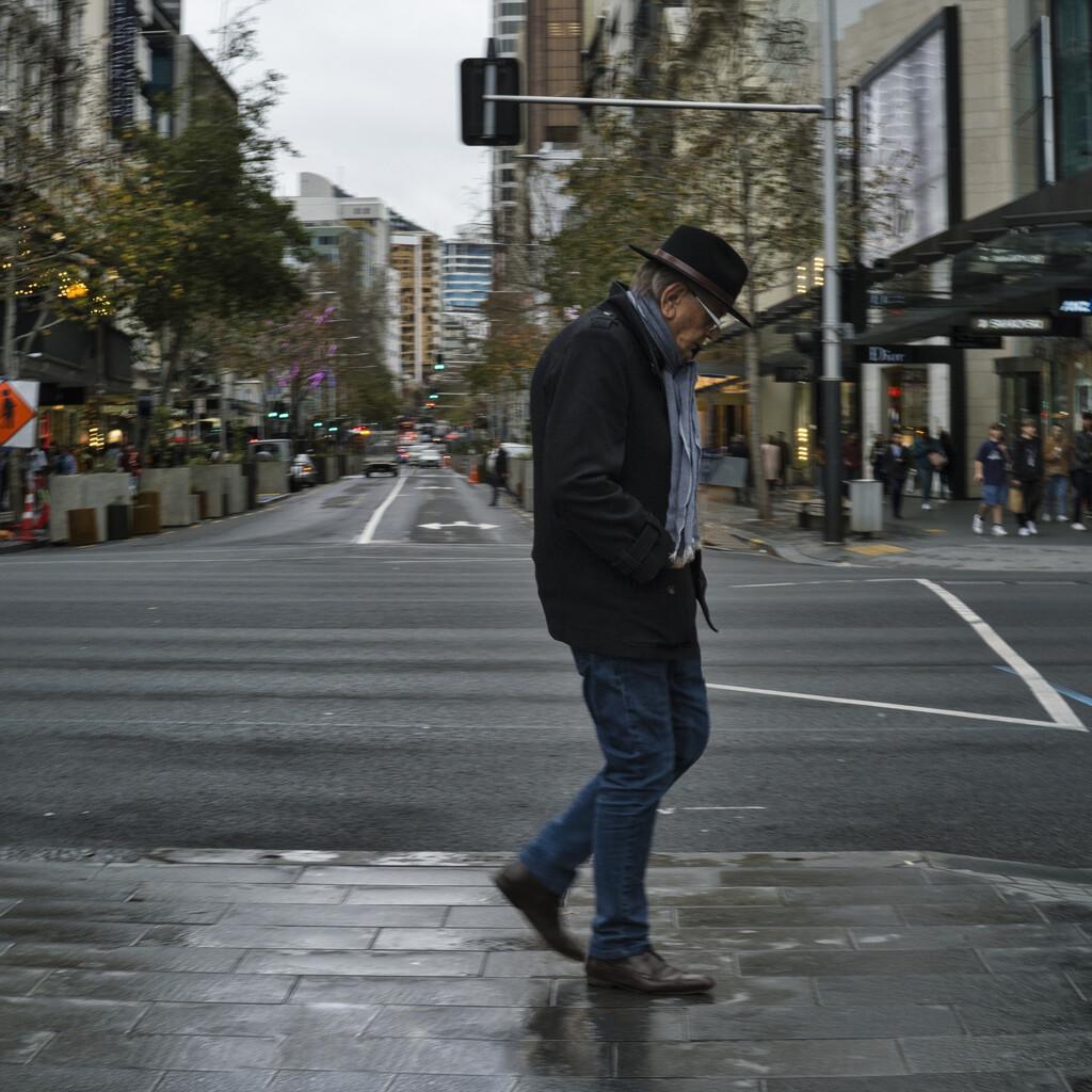 Man about town by dkbarnett