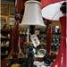 Quirky lamp at Goomeri Antiques shop, Queensland