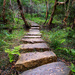 Stepping stones by spanner