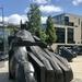 Sculpture by Eduardo Paolozzi, Edinburgh
