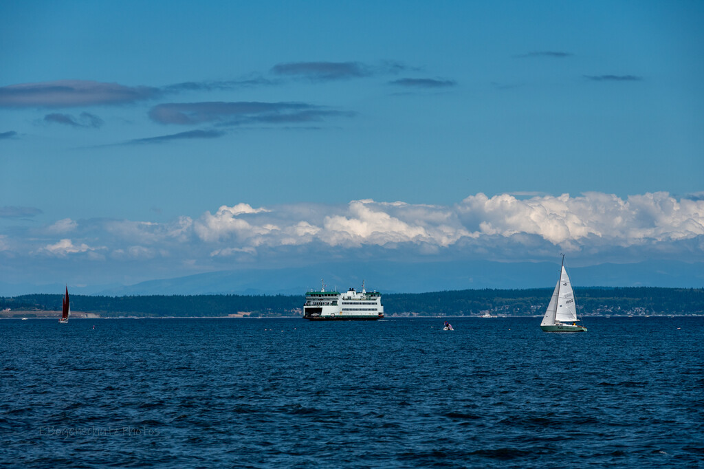 Puget Sound Traffic by theredcamera