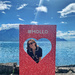 Alix in Montreux in a heart.