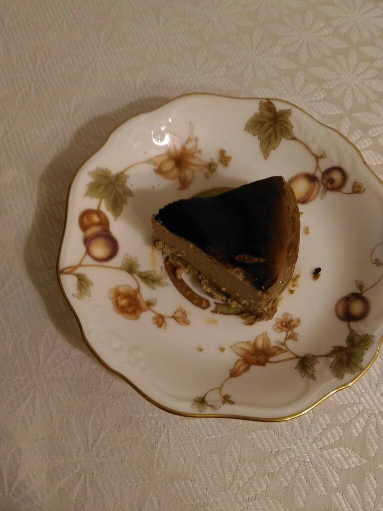 Tea Basque Cheesecake by eurydice93110
