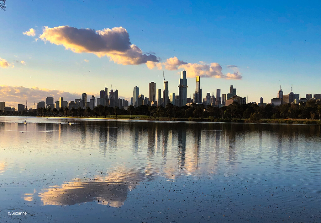 Albert Park Lake, Melbourne by ankers70