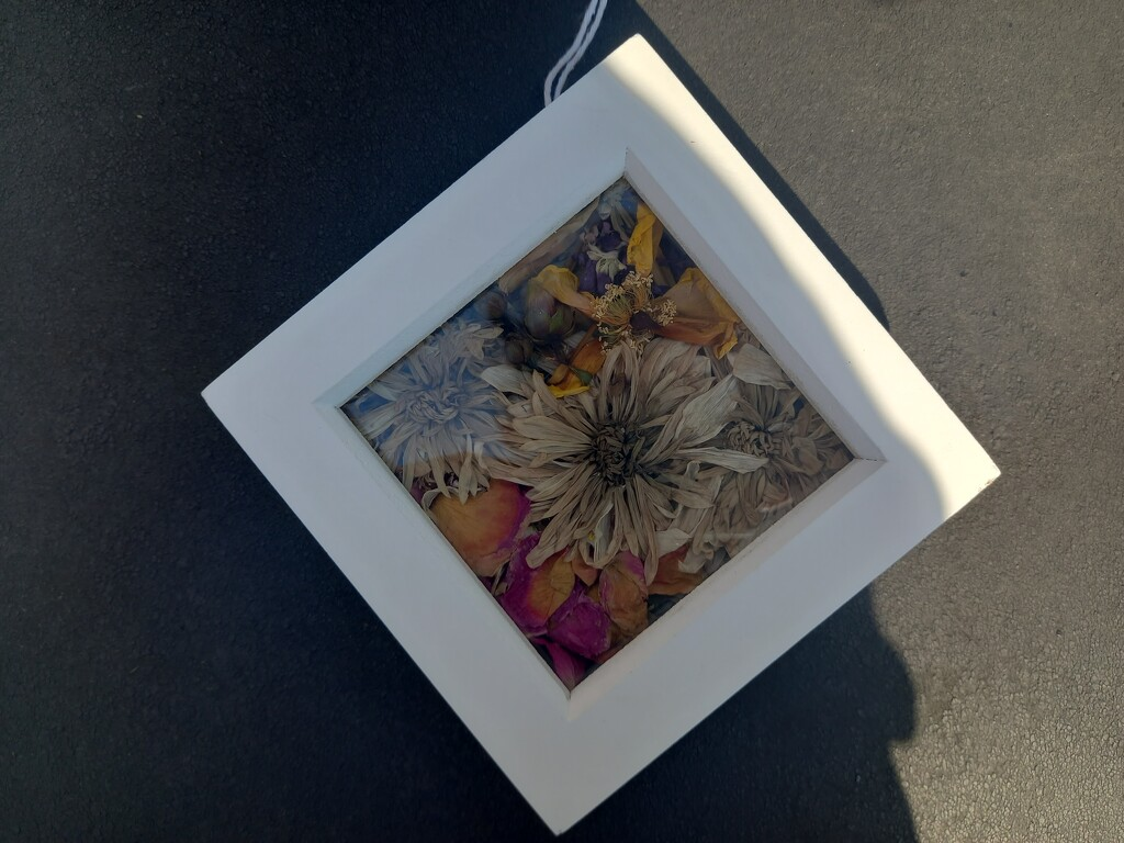 Flower frame by luiza