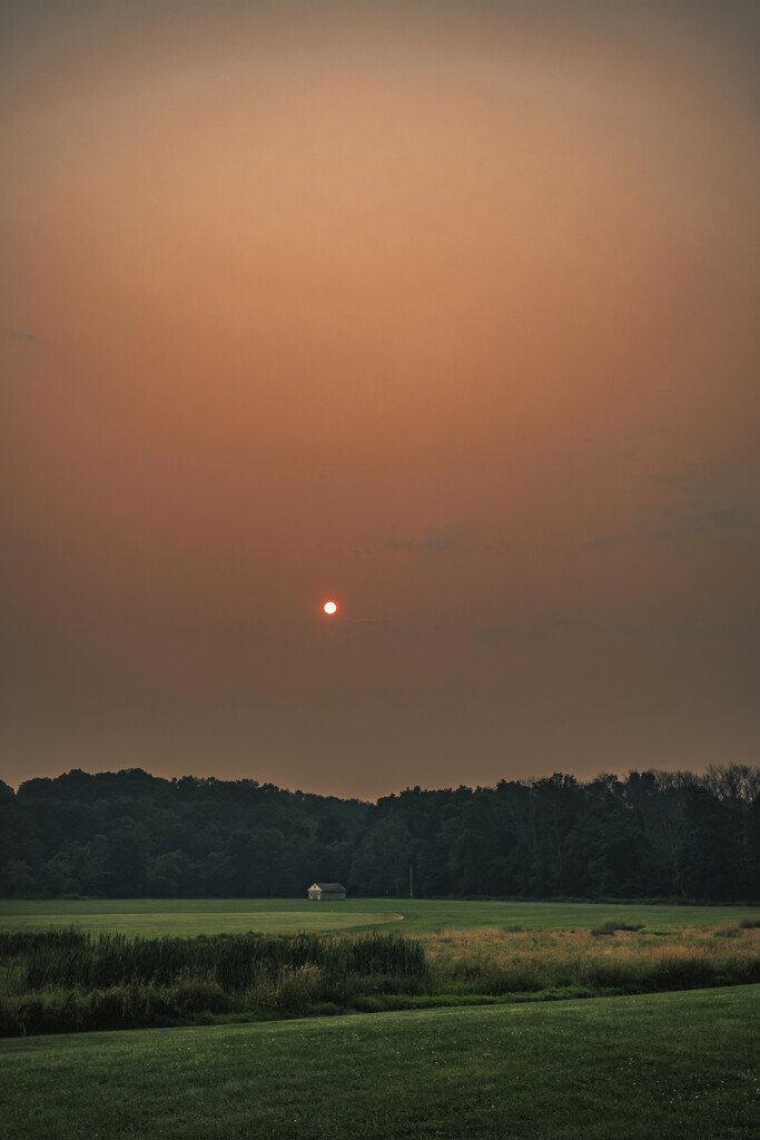 It was a hazy evening  by ramr