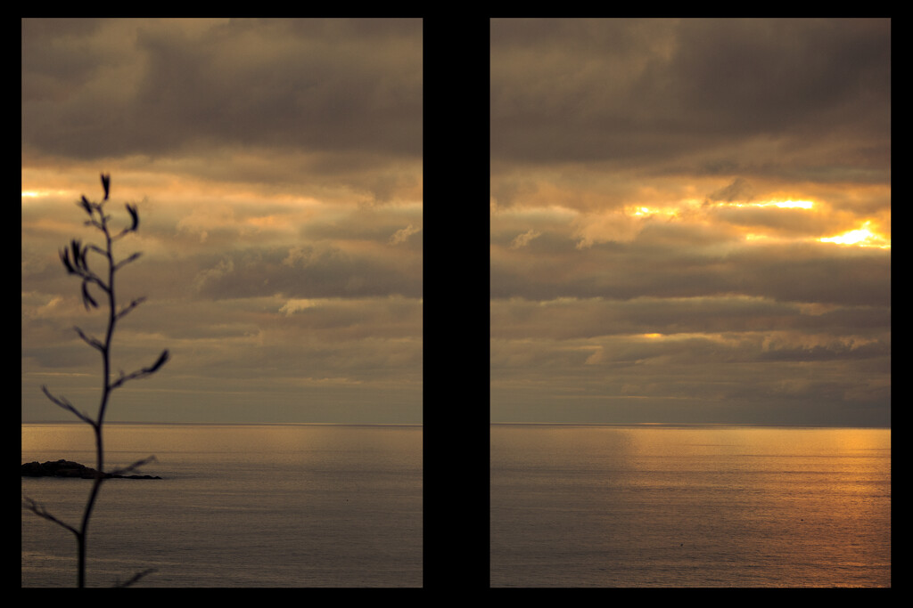 Diptych Sunset by suez1e