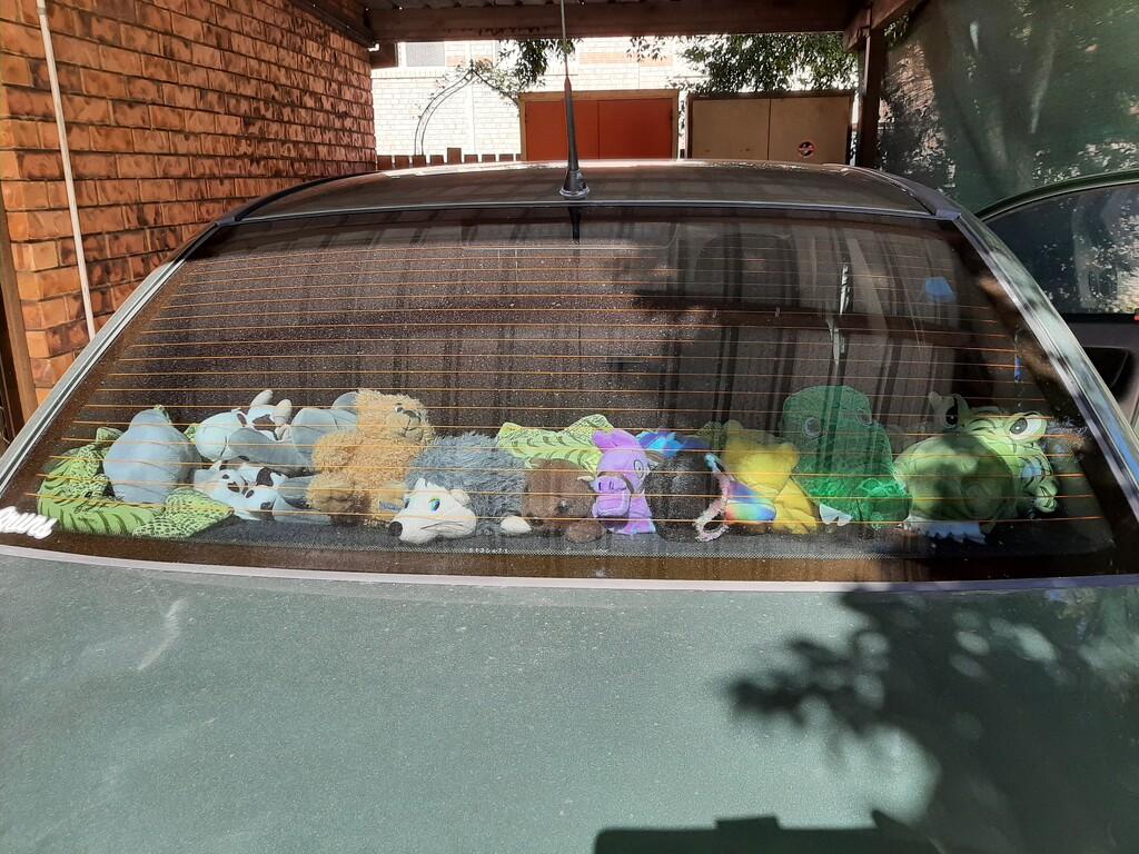My Car Friends  by mozette