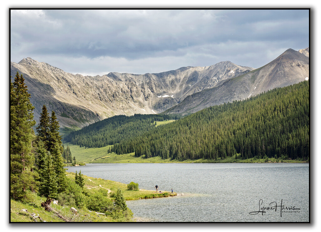 Lake in the Mountains by lynne5477