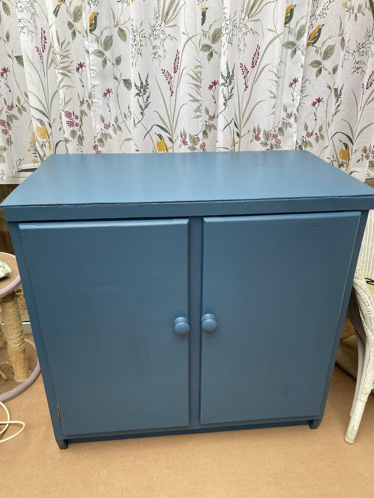 Blue Cupboard by gillian1912