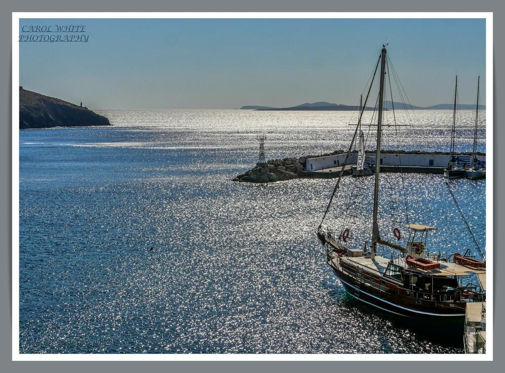 Shimmering Sea,Pera Gialos,Astypalaia by carolmw
