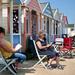 Beach hut life