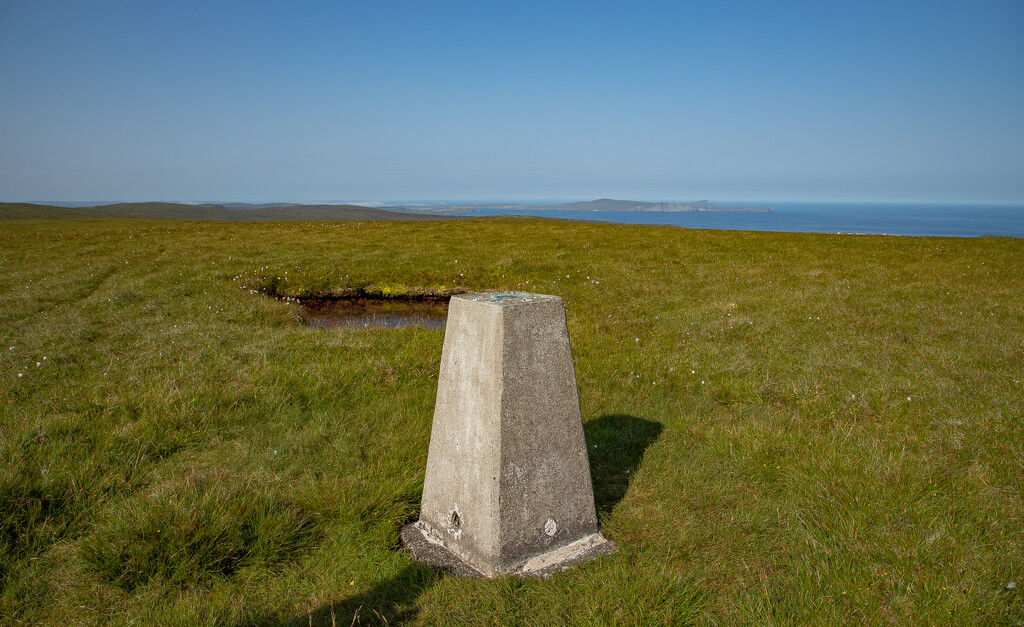 Royl Field Trig Point by lifeat60degrees