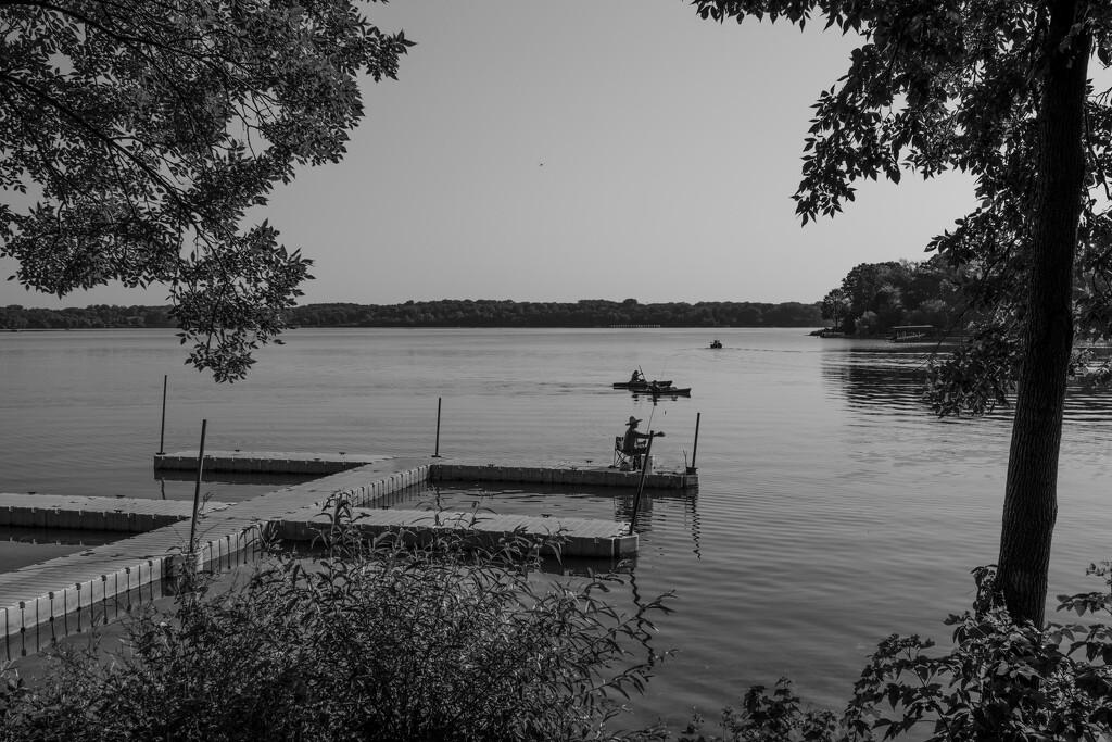 Sunday morning at the Lake by tosee