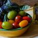 Tomates cerises, basilic & l'huile d'olives et truffes  by laroque