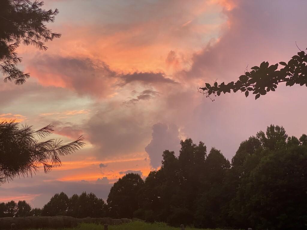A Simply Pretty Sky by calm