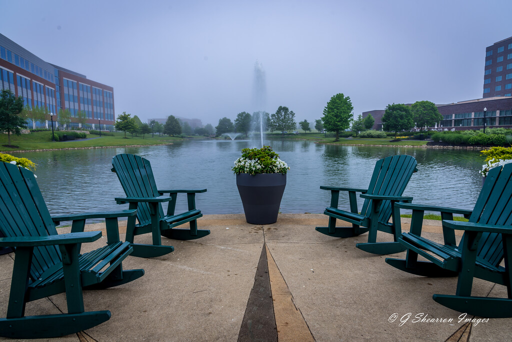 Overcast Morning With Open Seating by ggshearron