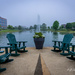 Overcast Morning With Open Seating