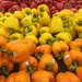 Bell peppers at the supermarket