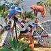 Yarn Bombed Bicycle ~