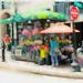 Flower Seller, Washington Street