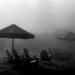 mist on the beach
