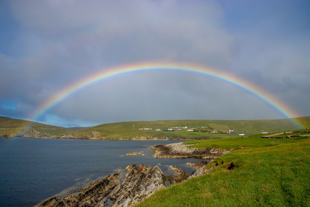 Morning Rainbow by lifeat60degrees