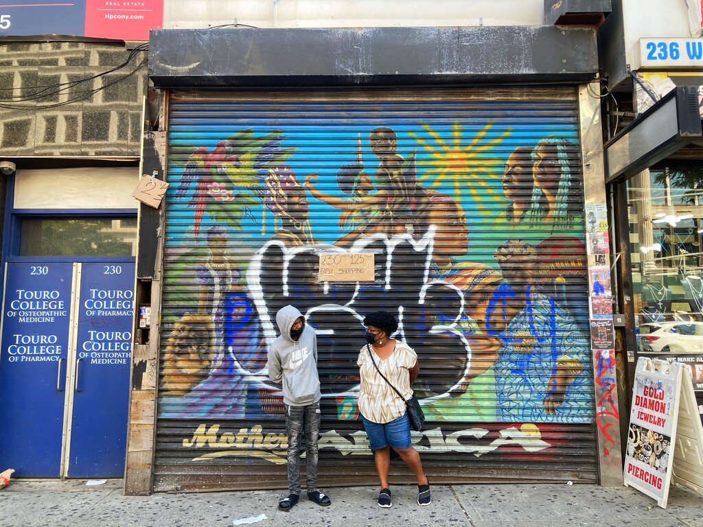 Street art and soul food by iris52