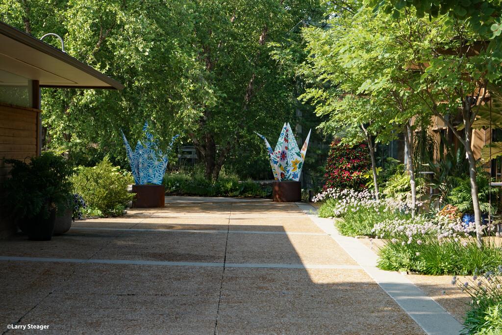 Main walkway-origami by larrysphotos